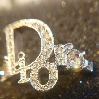 クリスチャンディオール(Christian Dior)の【ハイブランド】Dior☆美しい輝き人気のロゴ柄リング#15(リング(指輪))