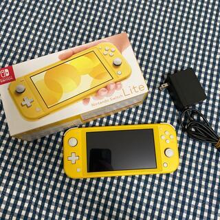 ニンテンドースイッチ(Nintendo Switch)のNintendo Switch Lite イエロー 本体(携帯用ゲーム機本体)