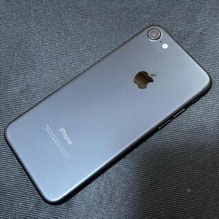 アイフォーン(iPhone)のsimフリー iPhone7 32GB ブラック 中古美品(スマートフォン本体)