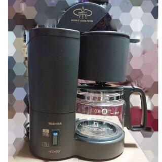 トウシバ(東芝)の東芝コーヒーメーカーHCD-5CJ 99年製(コーヒーメーカー)