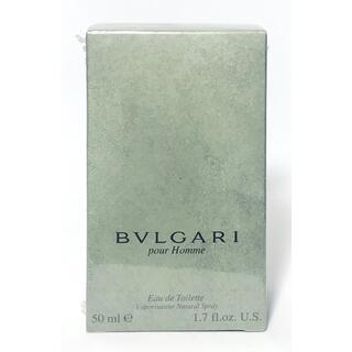 ブルガリ(BVLGARI)のブルガリ プールオム オードトワレ 50ml 香水 新品(ユニセックス)
