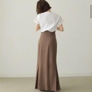 トゥデイフル(TODAYFUL)のlouren マーメイドプリーツスカート【M】(新品未使用タグ付)(ロングスカート)