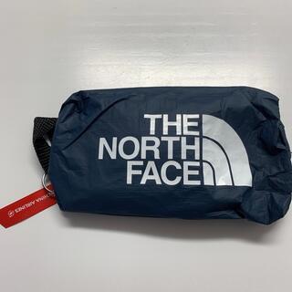 ザノースフェイス(THE NORTH FACE)の新品ノースフェイス チャイナエア アメニティ ポーチ プレエコ ネイビー(ポーチ)