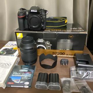 Nikon - Nikon デジタル一眼レフカメラ D7200 18-140VR レンズキット