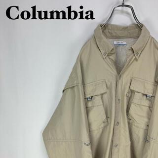 Columbia - コロンビア PFG☆長袖 ビッグサイズ シルエットフィッシングシャツ