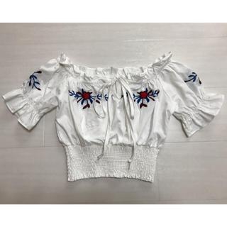 アナップ(ANAP)のANAP カットソー フリーサイズ(カットソー(半袖/袖なし))