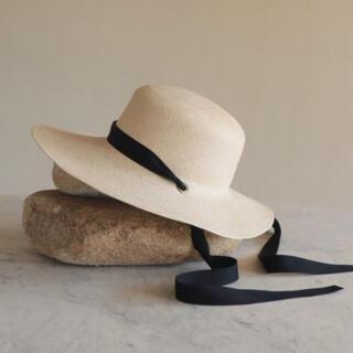 トゥモローランド(TOMORROWLAND)の麦わら帽子(麦わら帽子/ストローハット)