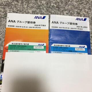 完売しました ANA株主優待券 グループ優待券 セット(航空券)