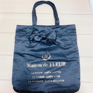 Maison de FLEUR - Maison de FLEUR トートバッグ 黒