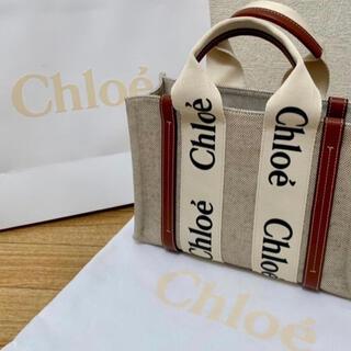 Chloe - Chloe クロエ「woody」スモールトートバッグ