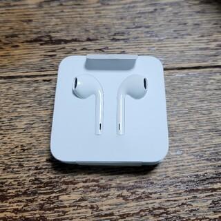 アップル(Apple)のEarPods ライトニングコネクター イヤホン変換コネクター付き 純正品(ヘッドフォン/イヤフォン)