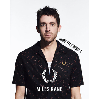 FRED PERRY - FRED PERRY × MILES KANE オープンカラーシャツ