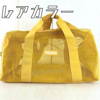 シュプリーム(Supreme)の✨販売証明書あり✨supreme mesh duffle bag ボストンバック(ボストンバッグ)