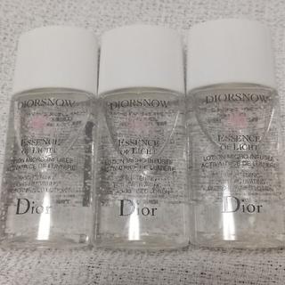 Christian Dior - ディオールスノーライトエッセンスローション 15ml×3個