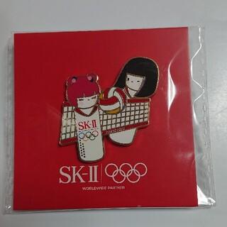 エスケーツー(SK-II)のSK-II 東京 オリンピック バレー ピンバッジ(ノベルティグッズ)