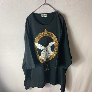 Vivienne Westwood - Vivienne Westwood バニーインフレーム ビッグ Tシャツ 超身幅
