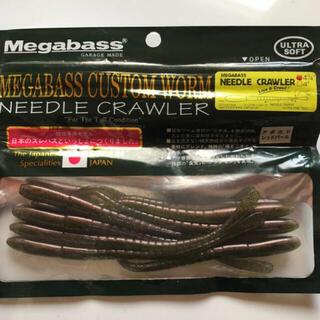 メガバス(Megabass)のメガバス ニードルクローラー 4 3/4 アボカドレッドパール(ルアー用品)