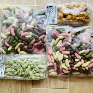 カメダセイカ(亀田製菓)の柿チョコ ペカンナッツショコラ(菓子/デザート)