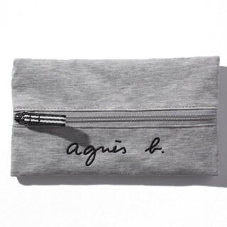 agnes b. - アニエスベー 刺繍 ペンケース 化粧ポーチ