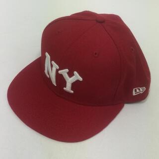 ニューエラー(NEW ERA)の美品 ニューエラ キャップ NEW ERA 帽子 ヤンキース NY(キャップ)