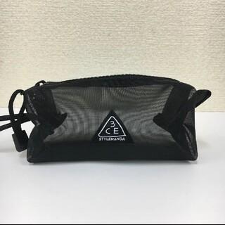 スタイルナンダ(STYLENANDA)の【正規品・新品未使用】韓国ブランド 3CE メッシュポーチ S(ポーチ)