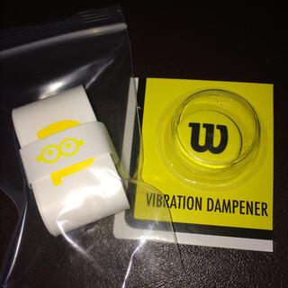 wilson - ミニオン ×ウィルソン グリップテープと振動止め