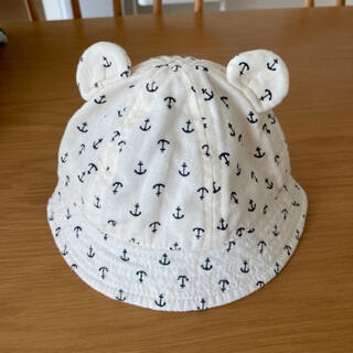 ニシマツヤ(西松屋)の赤ちゃん帽子⑅◡̈*(帽子)