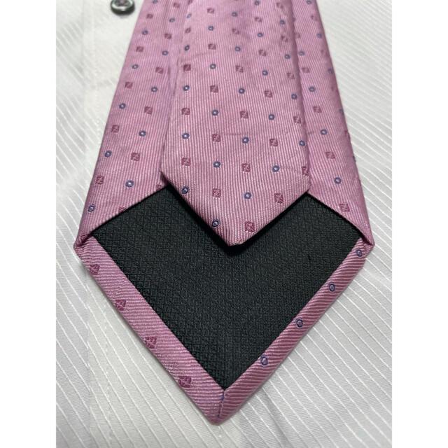 FENDI(フェンディ)のフェンディ ネクタイ FENDI  FFロゴ ドット柄 光沢 厚手 メンズのファッション小物(ネクタイ)の商品写真