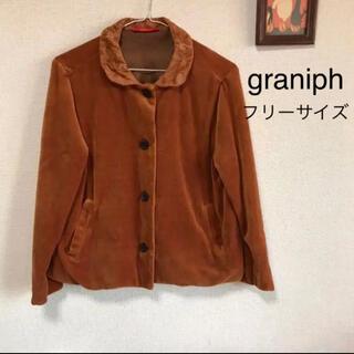 グラニフ(Graniph)のグラニフ 刺繍ジャケット(テーラードジャケット)