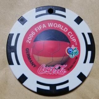 タイトリスト(Titleist)の【ワールドカップ】コカ・コーラ カジノチップ ボールマーカー ドイツ(その他)