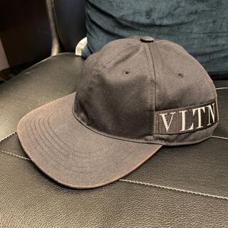 VALENTINO - 本物ヴァレンティノVLTNサイドロゴ帽子キャップVALENTINOガラバーニ59