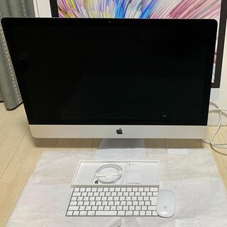 アップル(Apple)のiMac27インチ 2019 5K メモリ32GB HDD 2T(デスクトップ型PC)