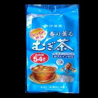 イトウエン(伊藤園)の伊藤園 ふっくら焙煎 香り香る 麦茶 1袋(54袋入)水出し・お湯出し(茶)