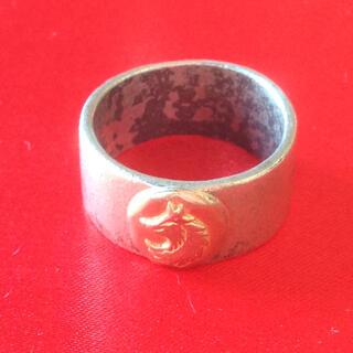 ゴローズ(goro's)のTADY&KING タディアンドキング 平打 ウルフリング K18 925(リング(指輪))