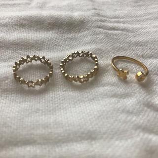 エックスガール(X-girl)のピンキーリング(リング(指輪))