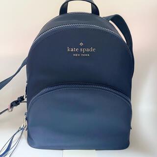 kate spade new york - WkRU6586 ケイトスペード ナイロン リュック カリッサ ネイビー