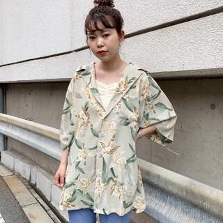 カスタネ(Kastane)のアロハBIGシャツ♡ (シャツ/ブラウス(半袖/袖なし))