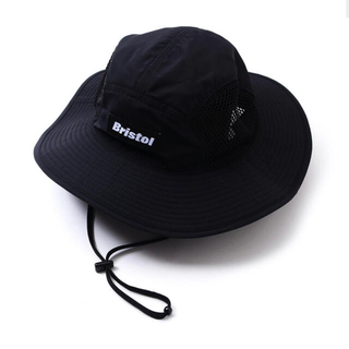 エフシーアールビー(F.C.R.B.)のFCRB 21ss SIDE MESH HAT black ブリストル(その他)