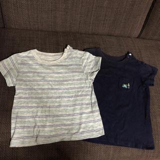 ユニクロ(UNIQLO)のユニクロ Tシャツ 80  2点(Tシャツ)