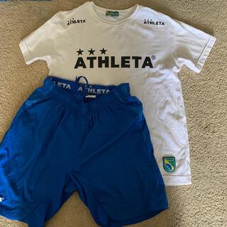ATHLETA - ATHLETA サッカーウエアー ジュニアL 160.165