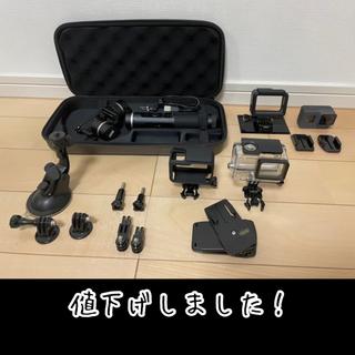 ゴープロ(GoPro)のGoPro HERO6 BLACK+FeiyuTech G6 など約半額セット(ビデオカメラ)