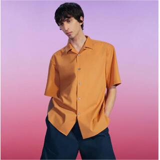 ルメール(LEMAIRE)のuniqlo u ルメール オープンカラーシャツ Lサイズ(シャツ)