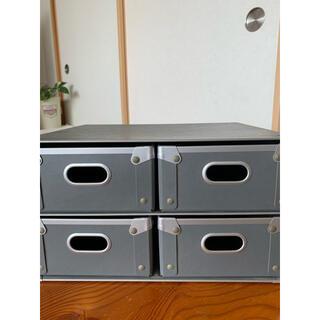 ムジルシリョウヒン(MUJI (無印良品))の無印良品 硬質収納ボックス 美品✩︎⡱(ケース/ボックス)
