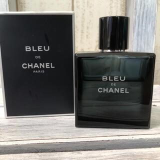 シャネル(CHANEL)の美品! ブルー ドゥ シャネル オードゥ トワレ 50ml(香水(男性用))