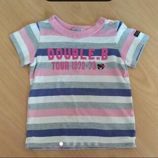 ダブルビー(DOUBLE.B)のダブルビー 半袖Tシャツ 80 B子ちゃん ビーコちゃん(Tシャツ)