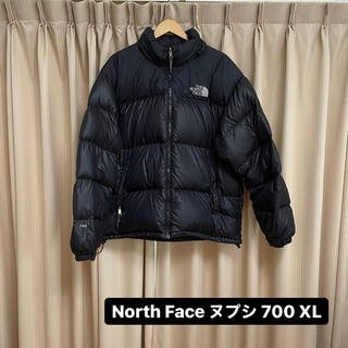 THE NORTH FACE - North Face ヌプシ 700 フィル ブラック XL