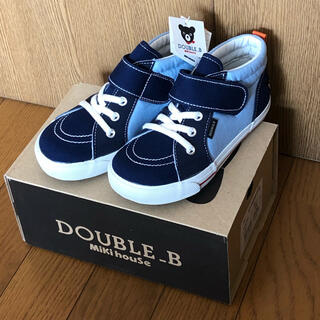 DOUBLE.B - ミキハウス ダブルB  新品 18cm