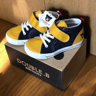 ダブルビー(DOUBLE.B)のミキハウス ダブルB  新品 17cm(スニーカー)