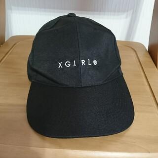 エックスガール(X-girl)のXGIRL キャップ(キャップ)