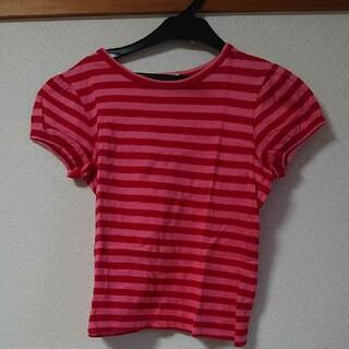 ジェーンマープル(JaneMarple)のボーダーカットソー(Tシャツ(半袖/袖なし))